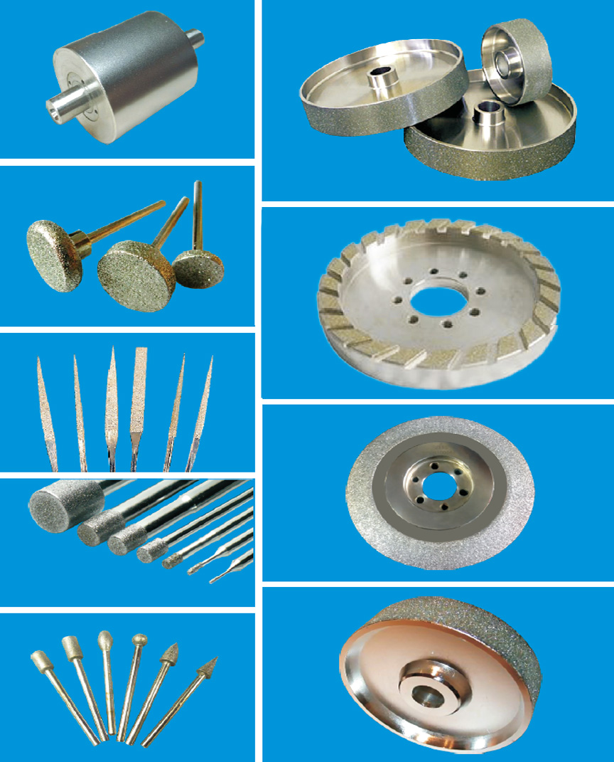 Solar Diamond Tools, Diamond and CBN Electroplated Products Manufacturers In Mumbai, India, Electroplated Diamond Tools, Electroplated Diamond Wheels, Diamond Plated Wheels, Diamond Tools, Electroplated Diamond Tools, Electroplated Diamond Grinding Tools